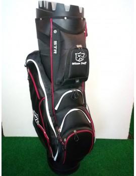 golfový bag WS ILOCK (černo/červený)
