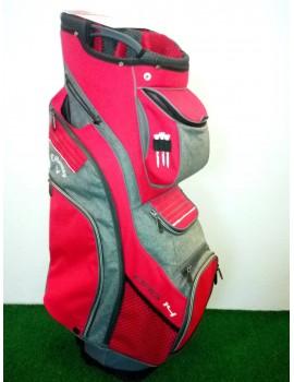 golfový cart bag Callaway Org14 šedo červený