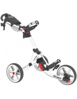 vozík tříkolový ClicGear 3,5+, bílá/bílá