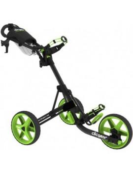 vozík tříkolový ClicGear 3,5+, černá/zelená