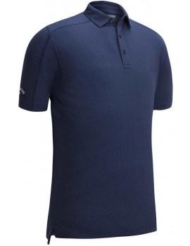pánské triko Callaway New Box Jacquard Polo medieval blue