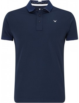 pánské triko Callaway Solid X-range Polo Dress blues