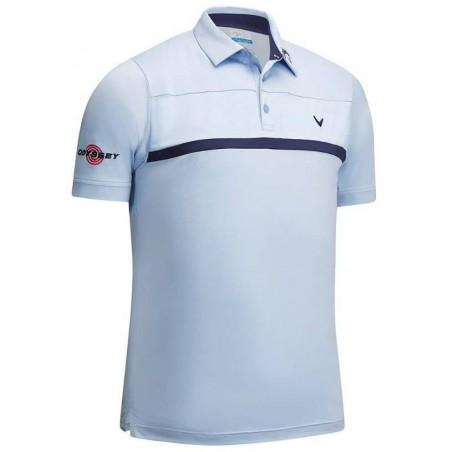 pánské triko Callaway New Tour Polo bílé