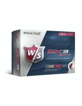 Golfové míče DX2 - pánské (tříplášťové)