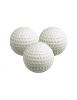 plastové míčky bílé s plným pláštěm