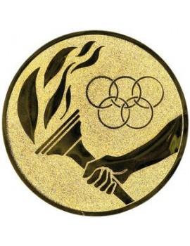 Logo LTK115 pochodeň olymp.