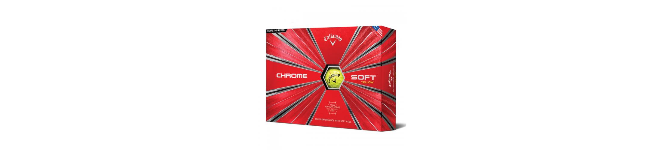 Callaway Chrome Soft golfové míčky