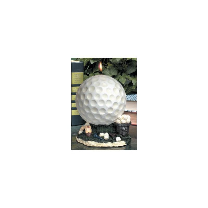 Golf Gifts svíčka - motiv golfový míček