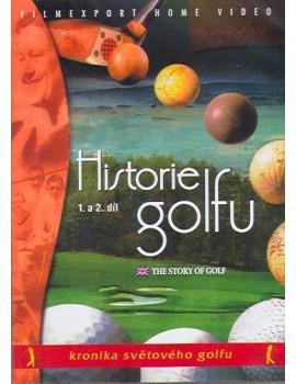 DVD historie golfu 1. a 2. díl