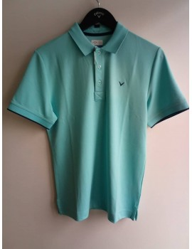 pánské golfové triko Callaway CGKS8089 bledé modrá