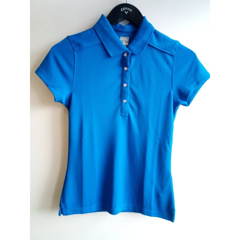 Dámské golfové triko Callaway CGKS4086 - blue
