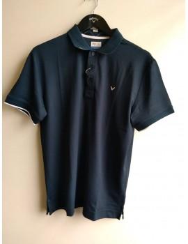 pánské golfové triko Callaway CGKS8089 tmavě modrá