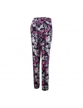 Kalhoty s květinovým potiskem - Floral printed