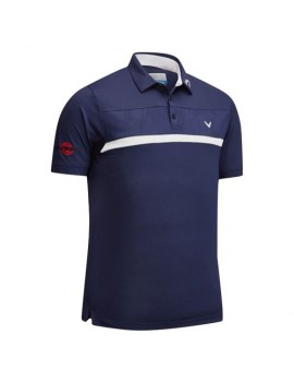 pánské triko Callaway New Tour Polo tmavě modré
