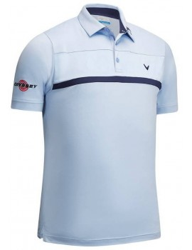 pánské triko Callaway New Tour Polo Brunnera Blue