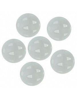 plastové míčky bílé s děrovaným pláštěm