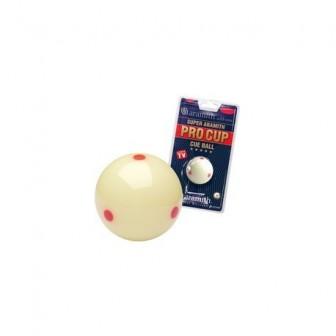 koule bílá + tečky POOL Super Aramith 57,2mm